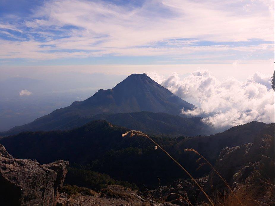 """volcán de fuego """"Nevado de Colima"""""""