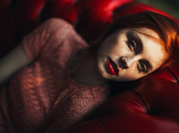 Red  by yannickdesmet - Faces Of The World Photo Contest