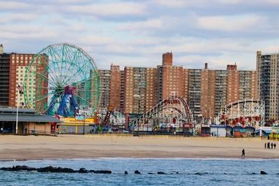 Coney Island, Brooklyn. New York, USA.