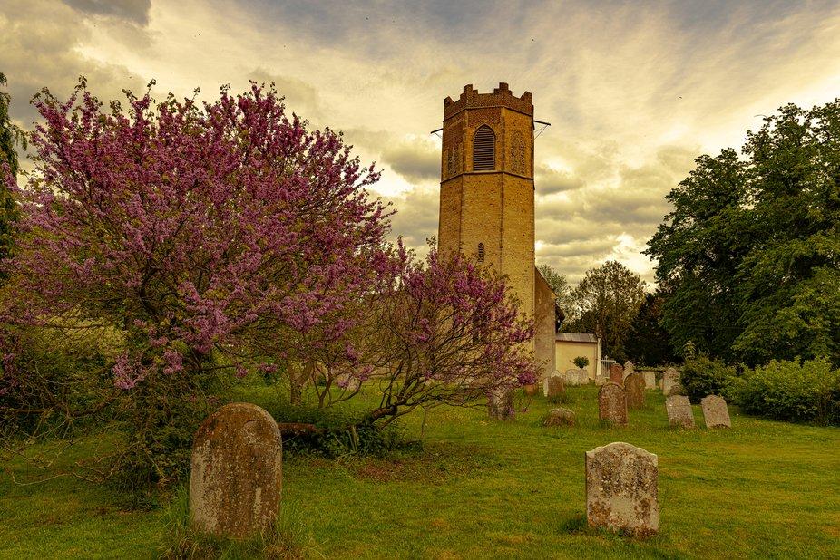 Typical Norfolk village church.