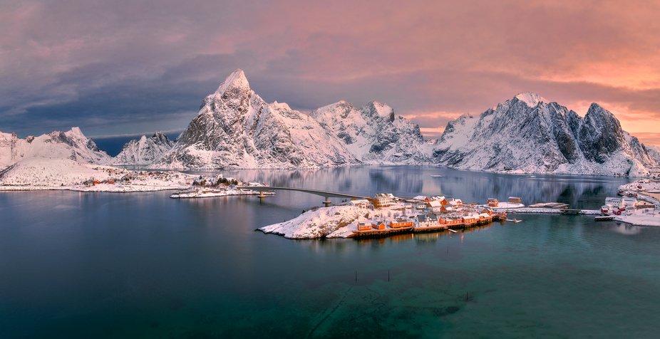 Norway, Lofoten Isands , Sakrisoy