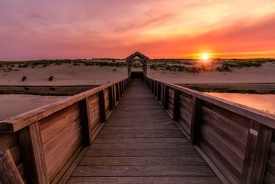 The pier to the sunset