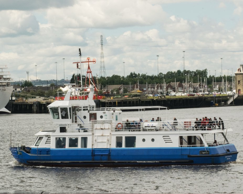 Passenger ferry Spirit of the Tyne.