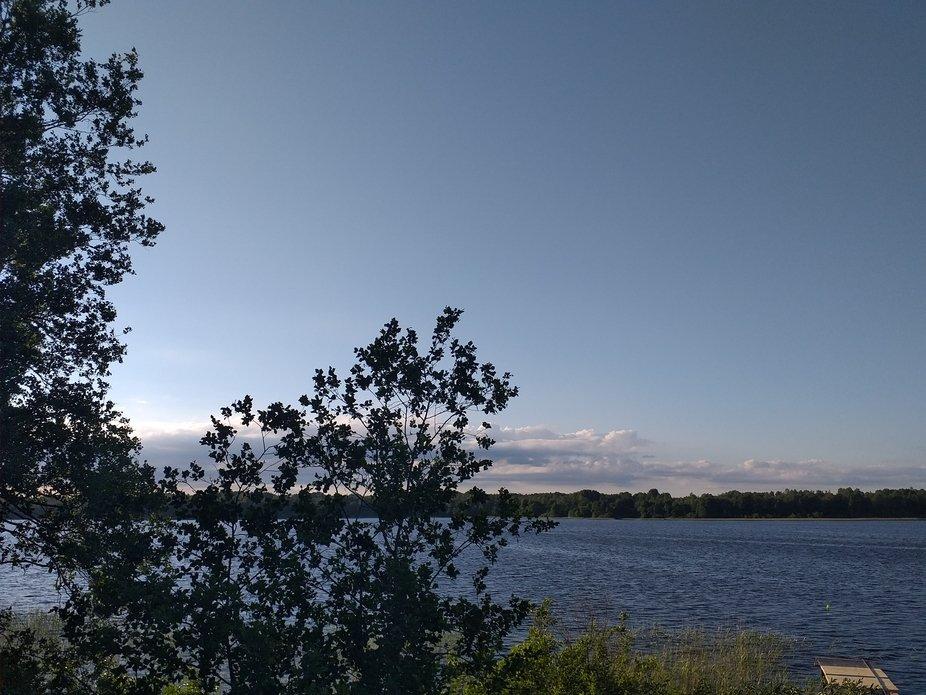 Озеро на даче в Спасс-Которске