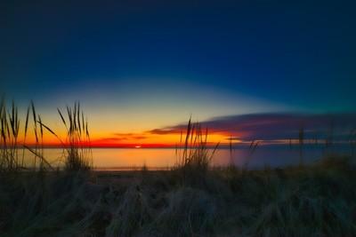 Long Sunset at Jenks Park