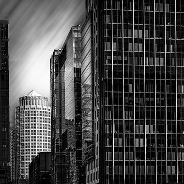 B&W image of high-rise building