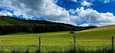 This is in gap mills, WV.  It is beautiful farm land in this area