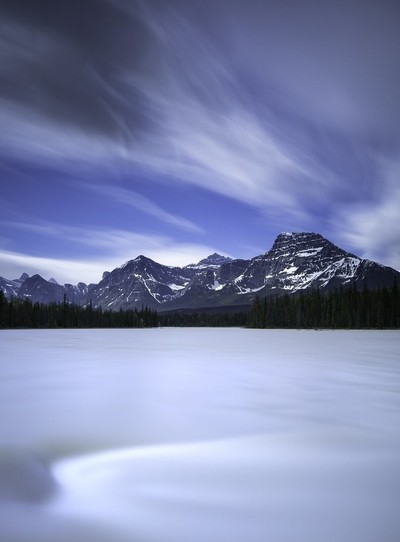 Long Exposure - Athabasca River