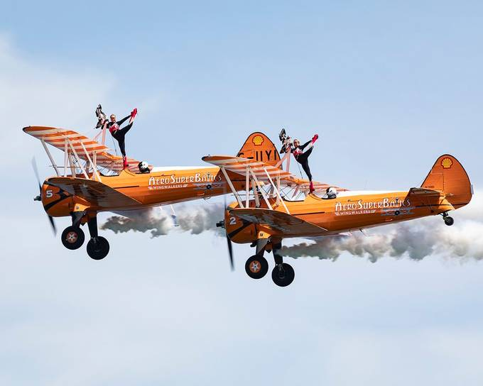 Wing Walkers - #Newcastle Festival of Flight by stevendouglas - Everything Aircrafts Photo Contest