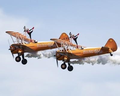 Wing Walkers - #Newcastle Festival of Flight