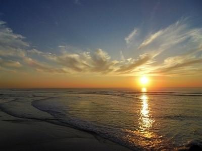 Sunset - Atlantic Ocean - Barra - Portugal