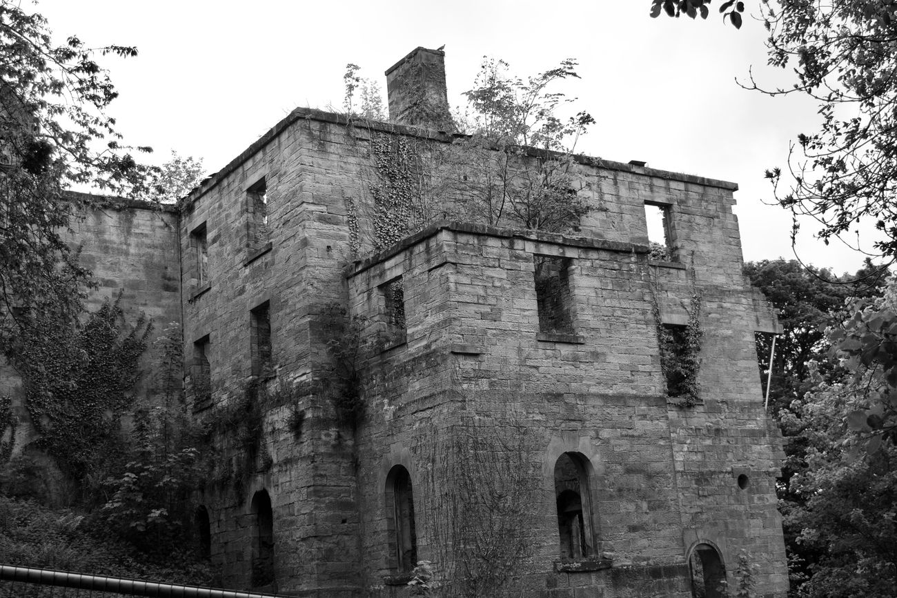 A Derelict Building at Gibside National Trust, Gateshead.