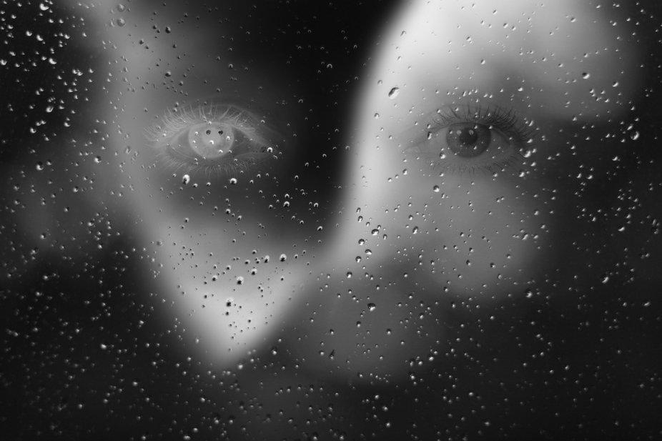 Rain abstract - vision...