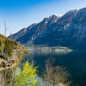 This was shot from the other side of the Hallstatt village. Just found a perfect corner with no tourists.