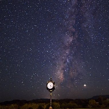The intersection of space and time at the Lajitas Golf Resort in Texas