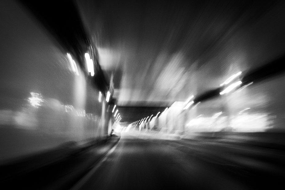 Tunnel in Beaverton, Oregon