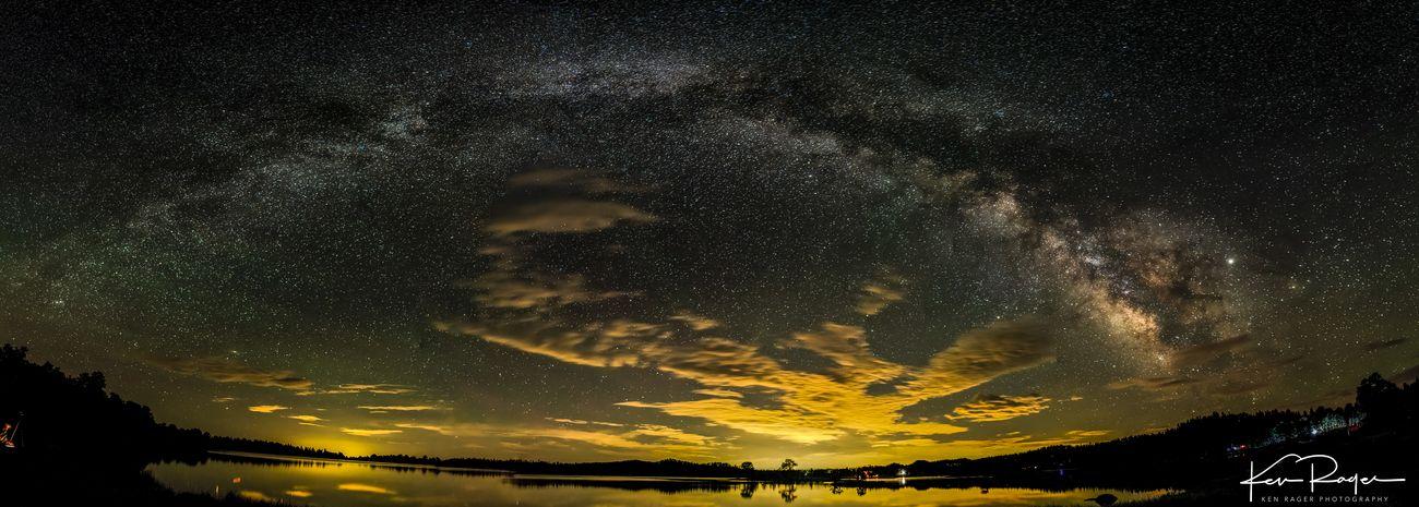 Milky-Way over Dowdy Lake