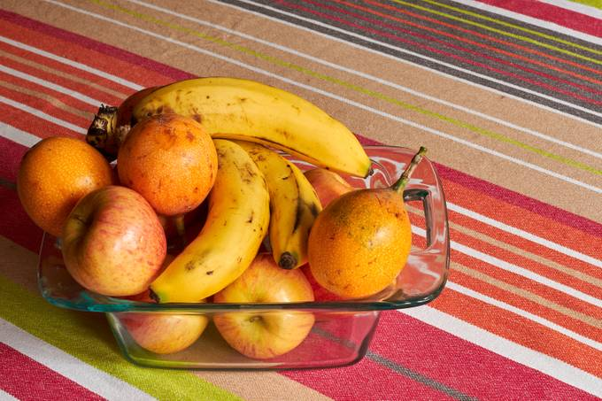 Yellow Fruits On The Table