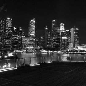 Singapore black and white...