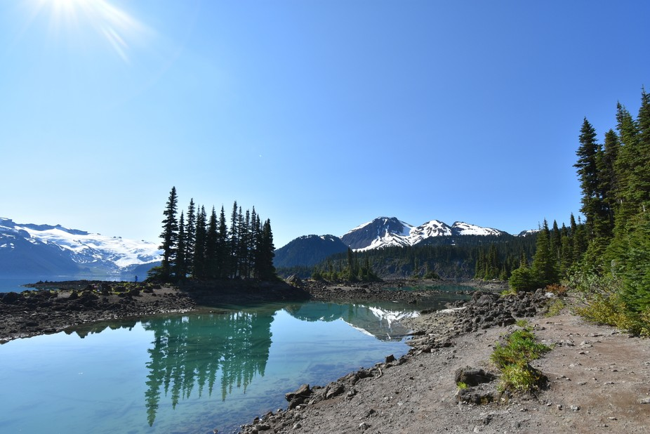 Garibaldi Lake, just south of Whistler B.C.