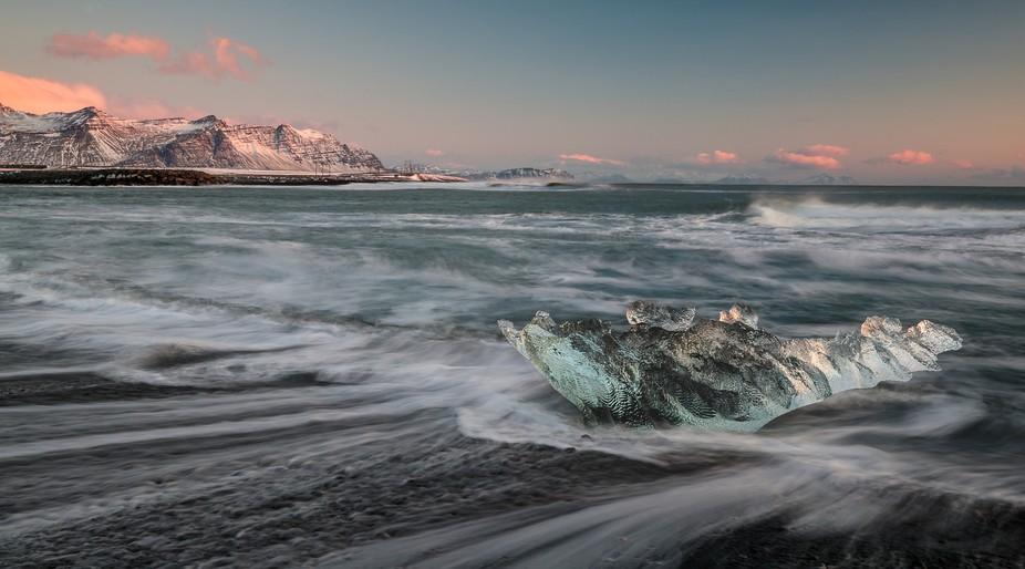 Ice Beach Sunrise
