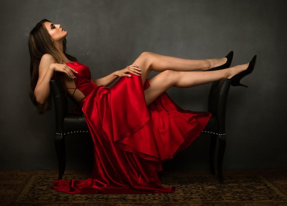 Mihaela Red Dress