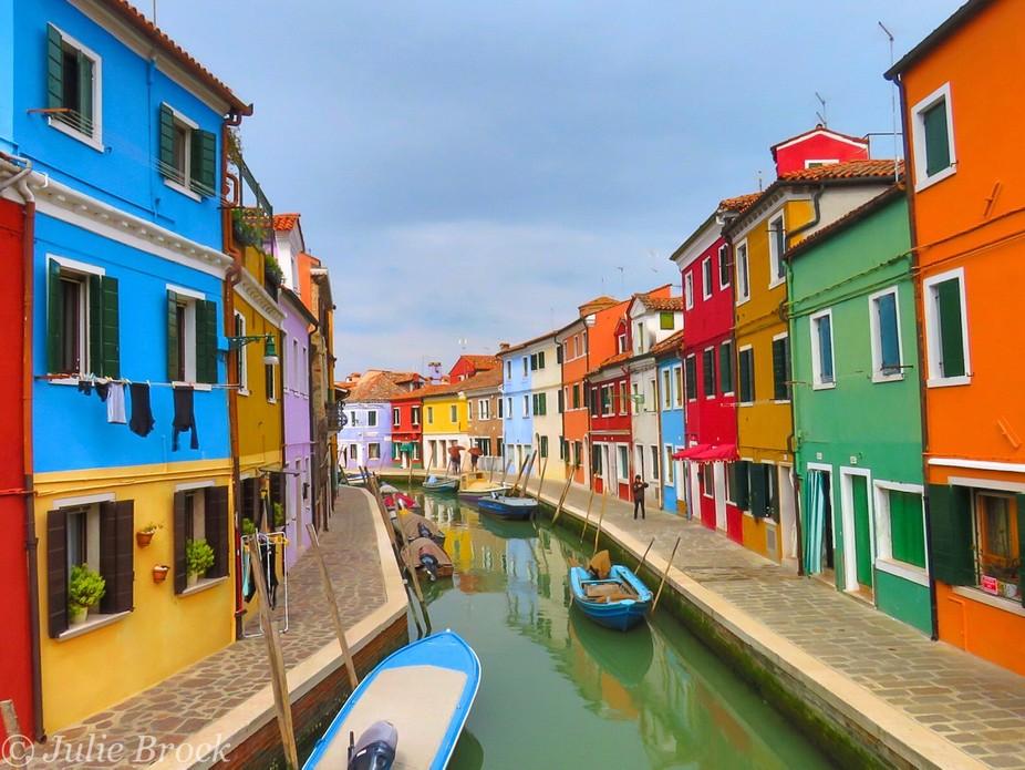 Beautiful Burano, Italy