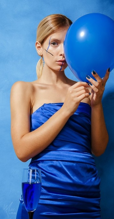 Lady in Blue v1