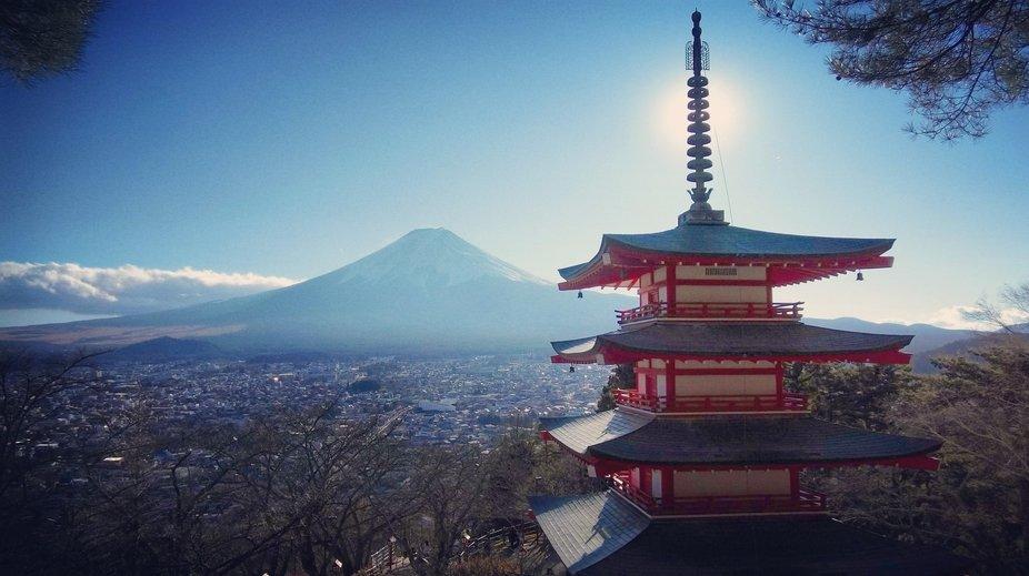 Chureito pagoda, Japan