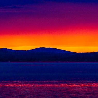 A rainbow of color filled the sky this evening on Hood Canal. We are so blessed with beauty in the PNW <3