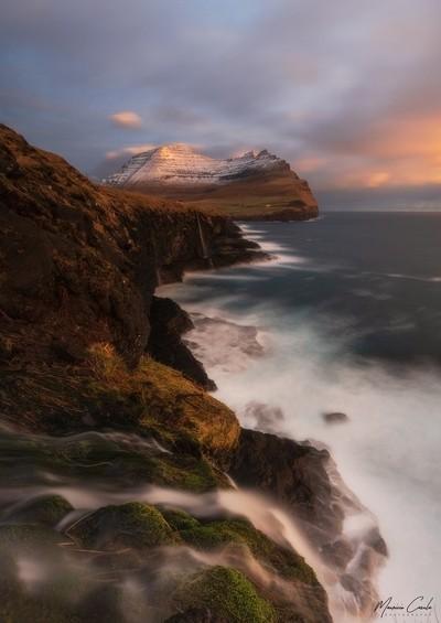 The Faroese cliffs