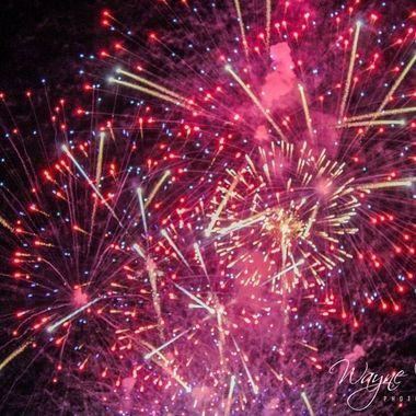 Palm Desert, CA Civic Center fireworks display July 4th, 2019