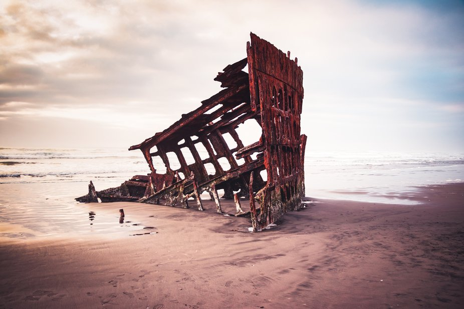 Took this photograph long ago when I visited Coast of Oregon stumbled upon the raw file the other...