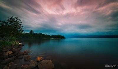Deep River Marina at Dawn