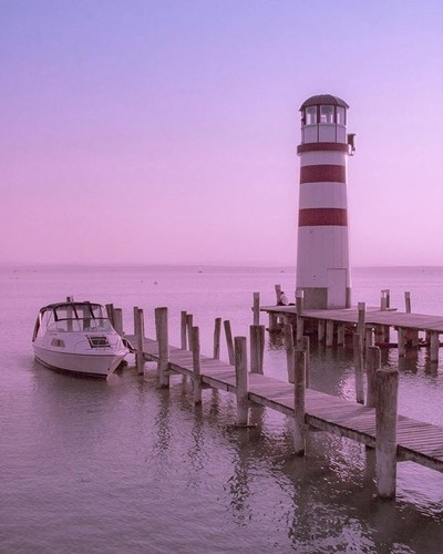pastel lighthouse.