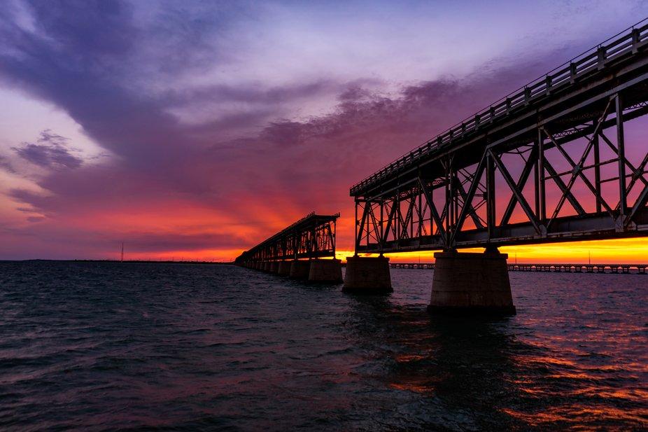 Bahia Honda Sunset.