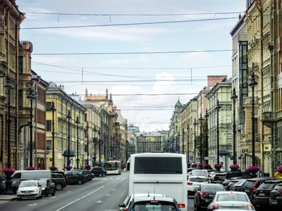 A Glance of St Petersburg, Russia