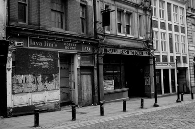 Newcastle, Derelict Cafe And Bar