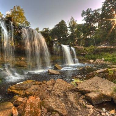 Keila Joa waterfall