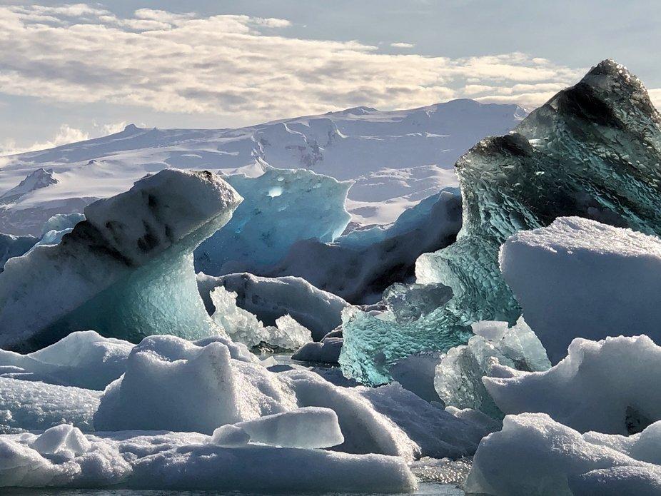 Icebergs, Iceland