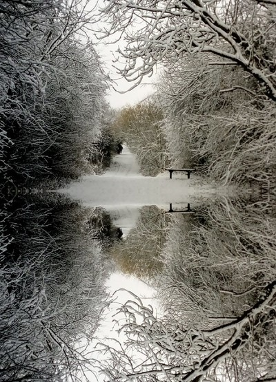 Reflecting on Winter - Leicester