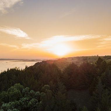 Missouri River Sunset