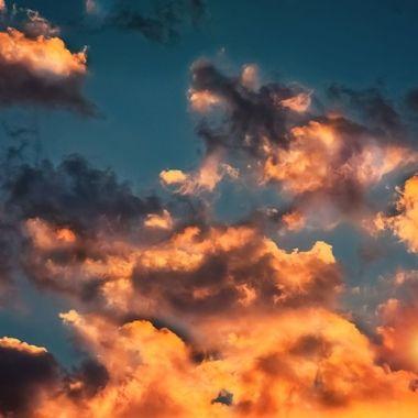 Orange Crush Clouds NW
