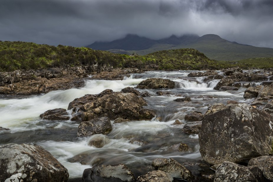 Picture taken in the Isle of Skye, Scotland.