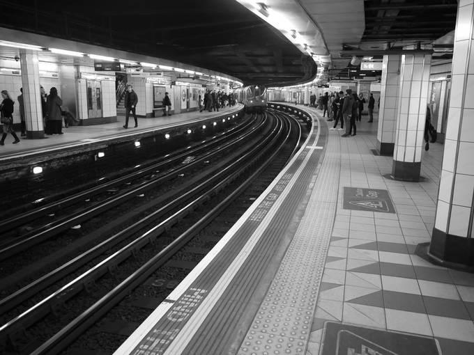 Monument station, London Underground