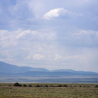 Southern Montana landscape I-15 North into Butte, MT