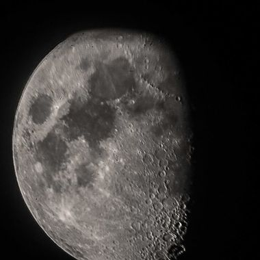 this is my first try at shooting from a telescope and holding a Sony camera with out the lens piece
