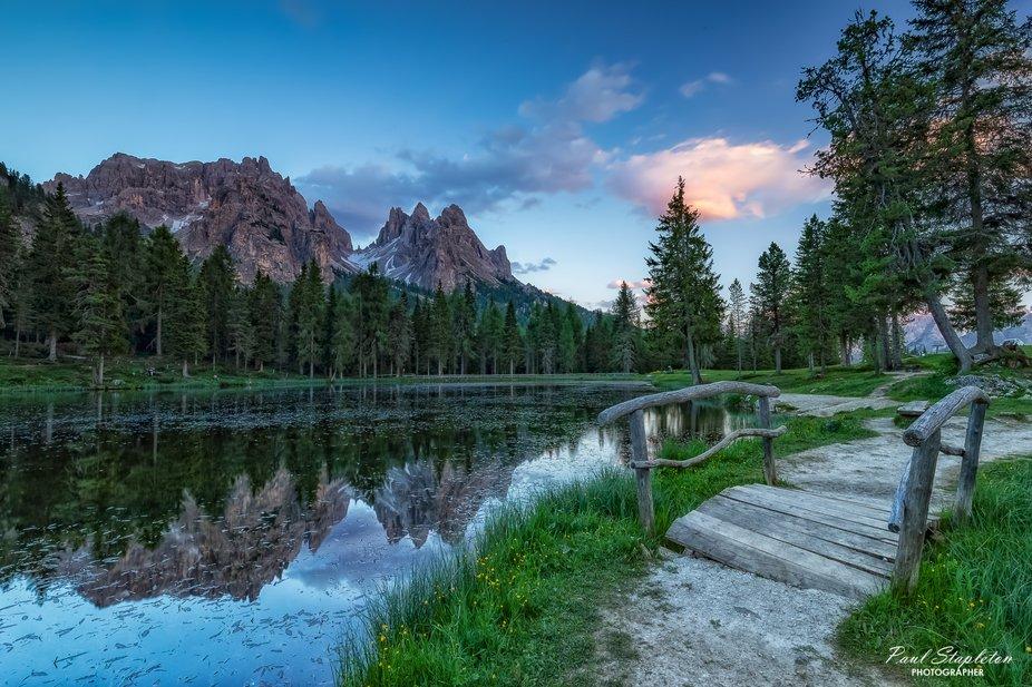 Lago d'Antorno Sunset