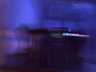 blurred violet