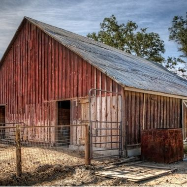 _S6A7591_2_3_4_5_6_7-Red Barn, Harlan Ranch